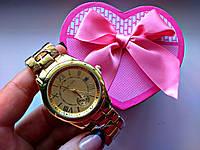 Женские наручные часы под золото MK 11