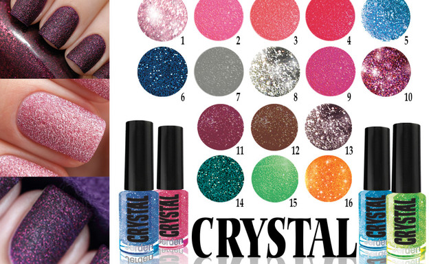 Сахарный лак для ногтей Jerden Crystal