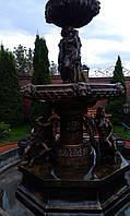 Изготовление фонтанов на заказ (скульптурные бронзовые, мраморные)