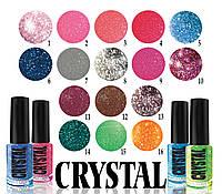 Лак для ногтей Jerden Crystal 6мл в ассортименте