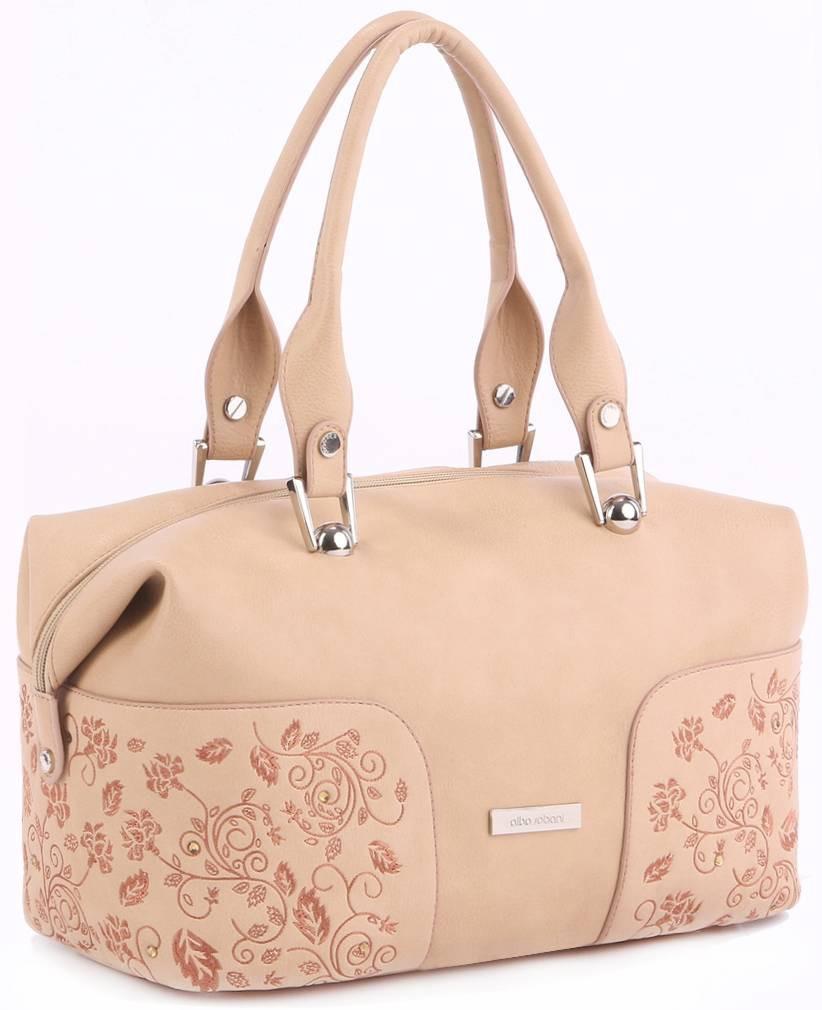Женская сумка Alba Soboni 160181 бежевая