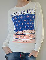 """Свитшот """"Hollister"""" - белый"""