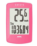 Велокомпьютер CATEYE Padrone CC-PA100W беспроводной, розовый (3524081)