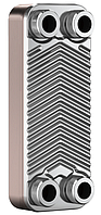 """Теплообменник BADER BL3-012-12Z,  3/4"""" (8-12kW) пластинчатый паянный"""