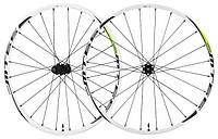 "Колеса Shimano MTB WH-MT66 26"" бескамерные, CENTER LOCK, белые (WHMT66FRDWE)"