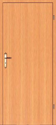 Дверное полотно ламинированные финиш пленкой Офис глухое  МДФ
