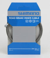 Тросик тормозной SHIMANO Y-PARTS шоссе 2050Х1.6мм, нержав. SIL-TEC PTFE (Y80098320)
