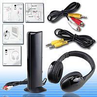 Беспроводные наушники Wireless Headphone 5 in1 - наушники для телевизора