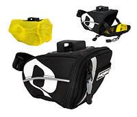 Подседельн сумка HQBC QR-S TEX черн (Q010005)