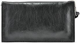 Мужской кожаный клатч 4489 Gloss черный