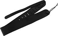"Гитарный ремень Clayton LS3BK LEATHER 3 1/2"" BLACK GUITAR STRAP (281986)"