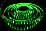 Светодиодная лента smd3528  (Б-класс) 12 В Зеленый.