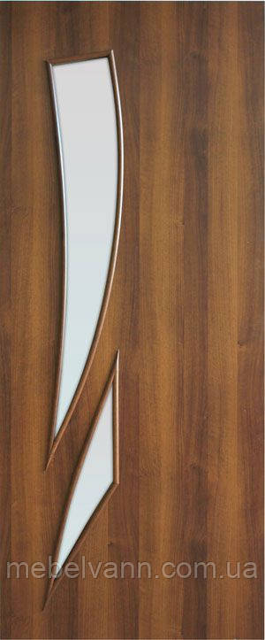 Дверное полотно ламинированные финиш пленкой Фиеста ПО МДФ