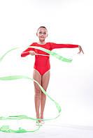 Купальник красный для гимнастики Dance&Sport N6029D бифлекс
