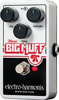 Педали эффектов для электрогитары Electro-harmonix Nano Big Muff Pi (281432)