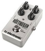 Педали эффектов для электрогитары TC Electronic Rottweiler Distortion (256705)
