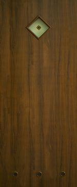 Дверное полотно ламинированные финиш пленкой Сантех ПО+Ф МДФ