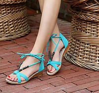 Сказочные босоножки-сандалии 38 размер