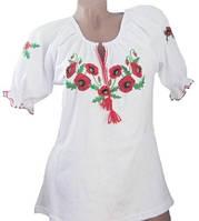 Украинская женская вышиванка. Размер: 48-52