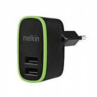 СЗУ Melkin M8J056E 2USB x 2A ports + Lighting + microUSB cables 1,2 м Черный