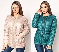 Короткая  демисезонная женская куртка Letta -029