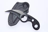 Нож керамбит нескладной тактический в пластиковых ножнах, фото 1