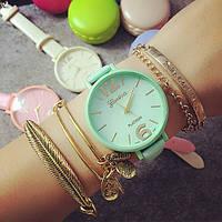 Жіночі годинники Geneva Candy бірюзові, фото 1