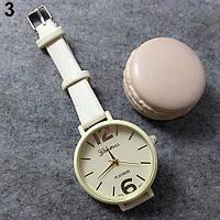Женские часы Geneva Candy бежевые d51f2a00e90fe