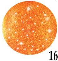 Лак для ногтей Jerden Crystal 6мл №16, фото 1