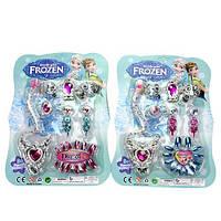 Детский набор украшений 015-3 бусы, серьги, браслет, ногти