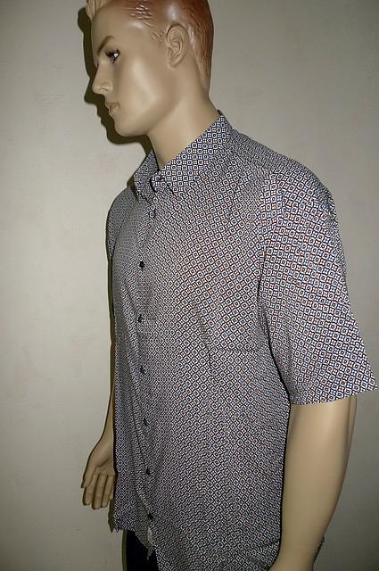 Рубашка мужская короткий рукав больших размеров