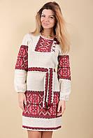 Женская стильная вязаная вышиванка , фото 1