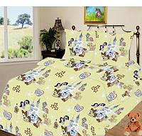 Постельный комплект в детскую кроватку 110*140