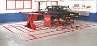 Напольный стапель для правки автомобилей KOREK BLACKHAWK (Франция)