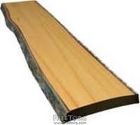 Доска сухая необрезная столярная ольха 50мм