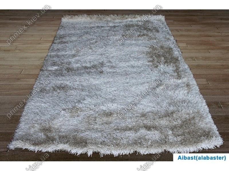 Ворсистий килим Асторія V shaggy, однотонний алебастровий (кремовий) колір