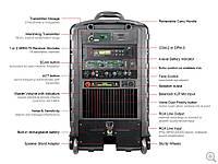 Комплект акустической системы / мобильный комплект Mipro MA-808 PA (241772)