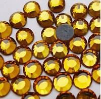 Стразы DMC, Topaz (топаз) SS10, термоклеевые. Цена за 144шт