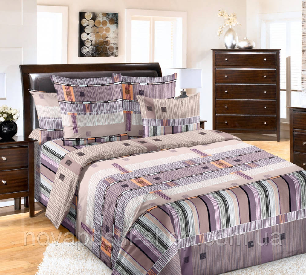 Комплект постельного белья Параллель (перкаль)