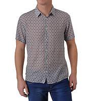 Рубашка Eskola хлопок шелк большой размер, фото 1