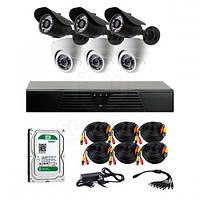 AHD комплекты видеонаблюдения CoVi Security HVK-3302H AHD KIT HDD 1 Тб