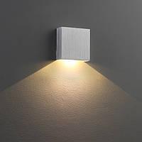 Декоративное LED, накладного монтаж 60*60*30sp mm. LED 1W. CRI-80. 100 Lm. Блок питания включен.