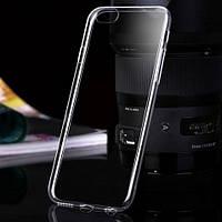 """Чехол силиконовый Ультратонкий Epik для iPhone 6/6s Plus (5.5"""") Прозрачный"""