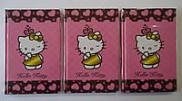 Блокнот Hello Kitty,Kite ,А5,80лис ,тверд обложка.Блокнот подарочный Хелоу Китти А5.Блокнот с тверд. обложкой