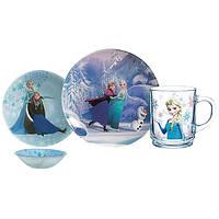 Набор детской посуды luminarc disney frozen 3 предмета (l0872)