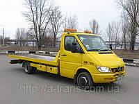 Услуги эвакуатора Mercedes Sprinter 2 тонны в Днепропетровске, фото 1