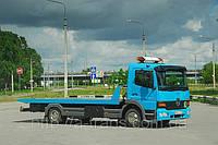 Услуги эвакуатора Mercedes Atego 4тонны в Днепропетровске