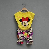 Детский летний костюм мини маус