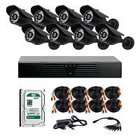 AHD комплекты видеонаблюдения CoVi Security HVK-4001 AHD KIT HDD 1 Тб
