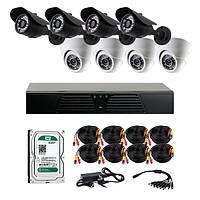 AHD комплекты видеонаблюдения CoVi Security HVK-4002 AHD KIT HDD 1 Тб